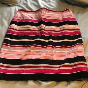 Talbots ribbon pencil skirt, size 8